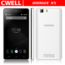 China Brand Cheap Mobile Phone DOOGEE X5 3G Android 5.1 5 Inch Quad Core 1GB RAM 8GB ROM 5MP WIFI GPS Unlocked Cell Phone