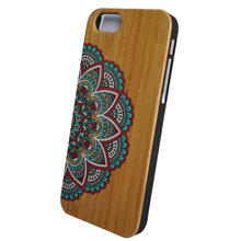 China Mobile Best Selling Bulk Wood Printable Phone Case Natural Cover for I Phone 6
