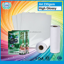 High quality cast coated glossy photo paper wholesale fuji inkjet high glossy photo paper