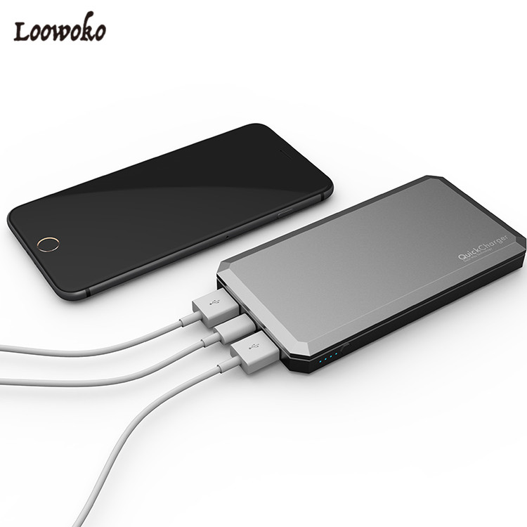 Customized Qualcomm Quick Charge Powerbank Best Price Phone Charger