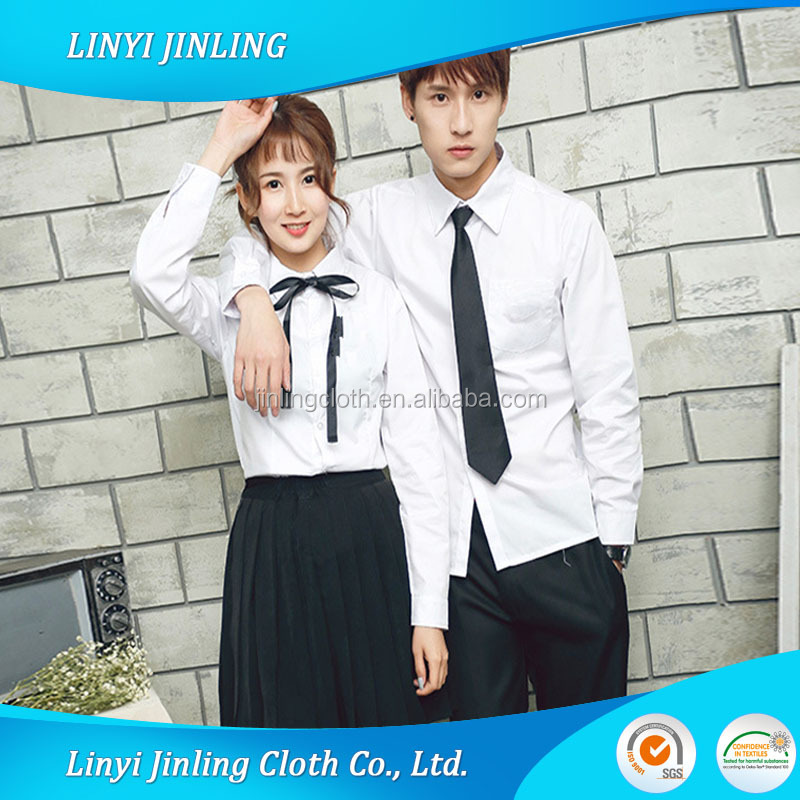 TC Poplin School Uniform <strong>Poly</strong> Cotton 65/35 45x45 133x72 110gsm Fabric From Shandong