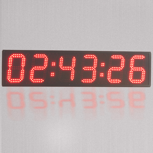 Outdoor Waterproof 6 Digit 6 Inch Double Sided LED Digital Marathon Event Sports Countdown Timer