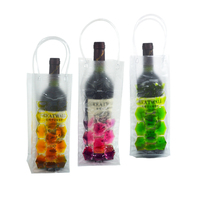 NEW Designed PVC Wine Bottle chiller bags