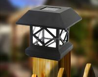 Garden Fence Solar Post Cap Deck Light