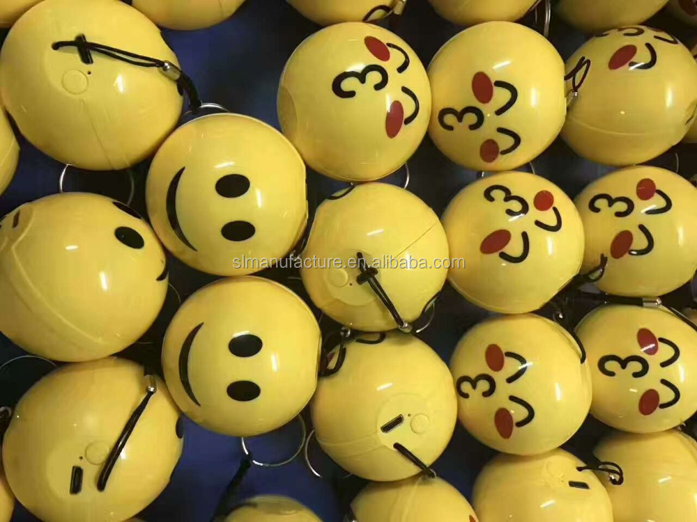 built-in Microphone Cute mini stereo emoji custom design bluetooth portable speaker manufacturer