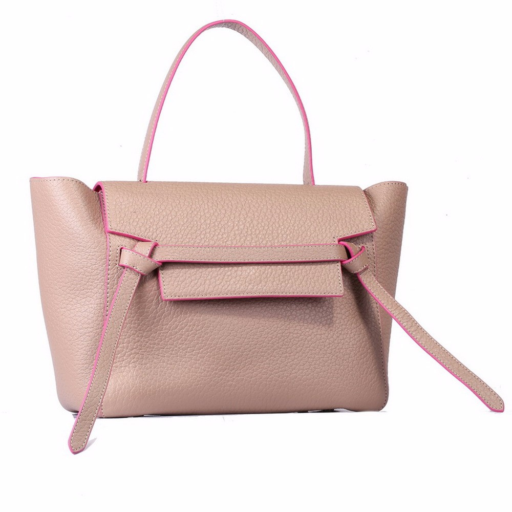 Korea ladies fancy leather hand bags high quality women bag importers handbags from china