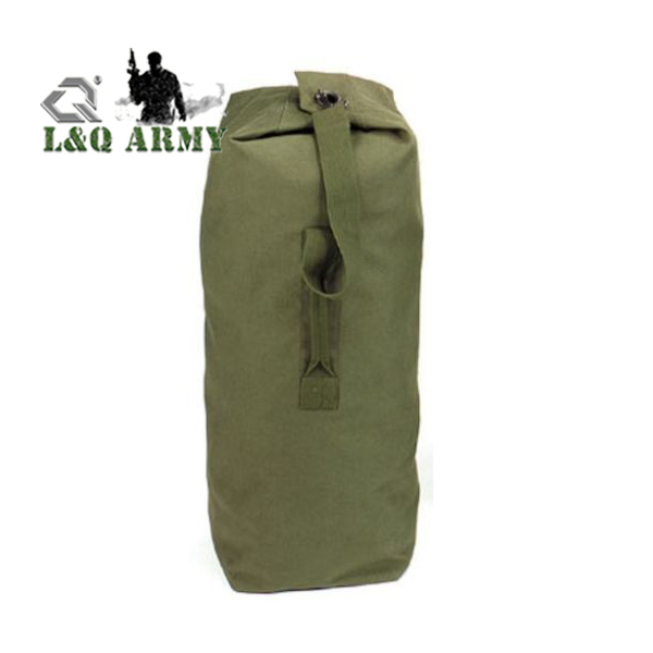 Top Load Duffel Bag Heavyweight Canvas Military