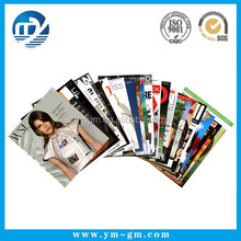 Customized nice A4 size product catalogue / high quality magzine supplier