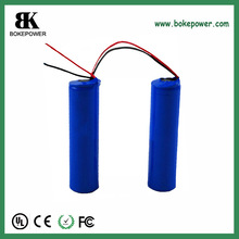3.6v 2200mah 18650 li ion battery