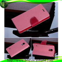 Wholesale With Credit Card Holder Leather Flip Cover Case For Samsung S5
