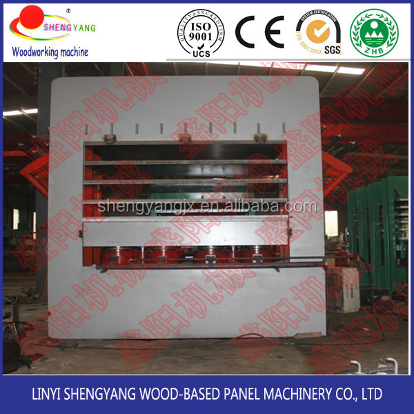 Wood veneer pressing machine door molded for door skin
