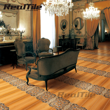 15X60Cm Dark Color Ceramic Flooring Wood Tile Large Supply In Foshan Manifacturer For Bedroom