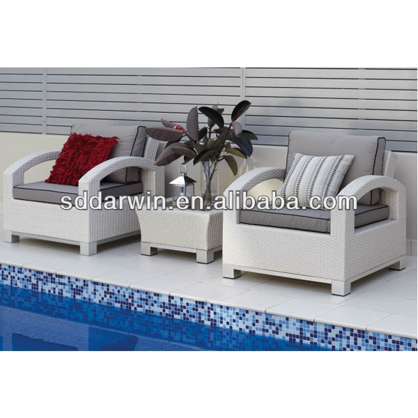 Cheap Outdoor Patio Rattan Wicker Round Garden Sofa