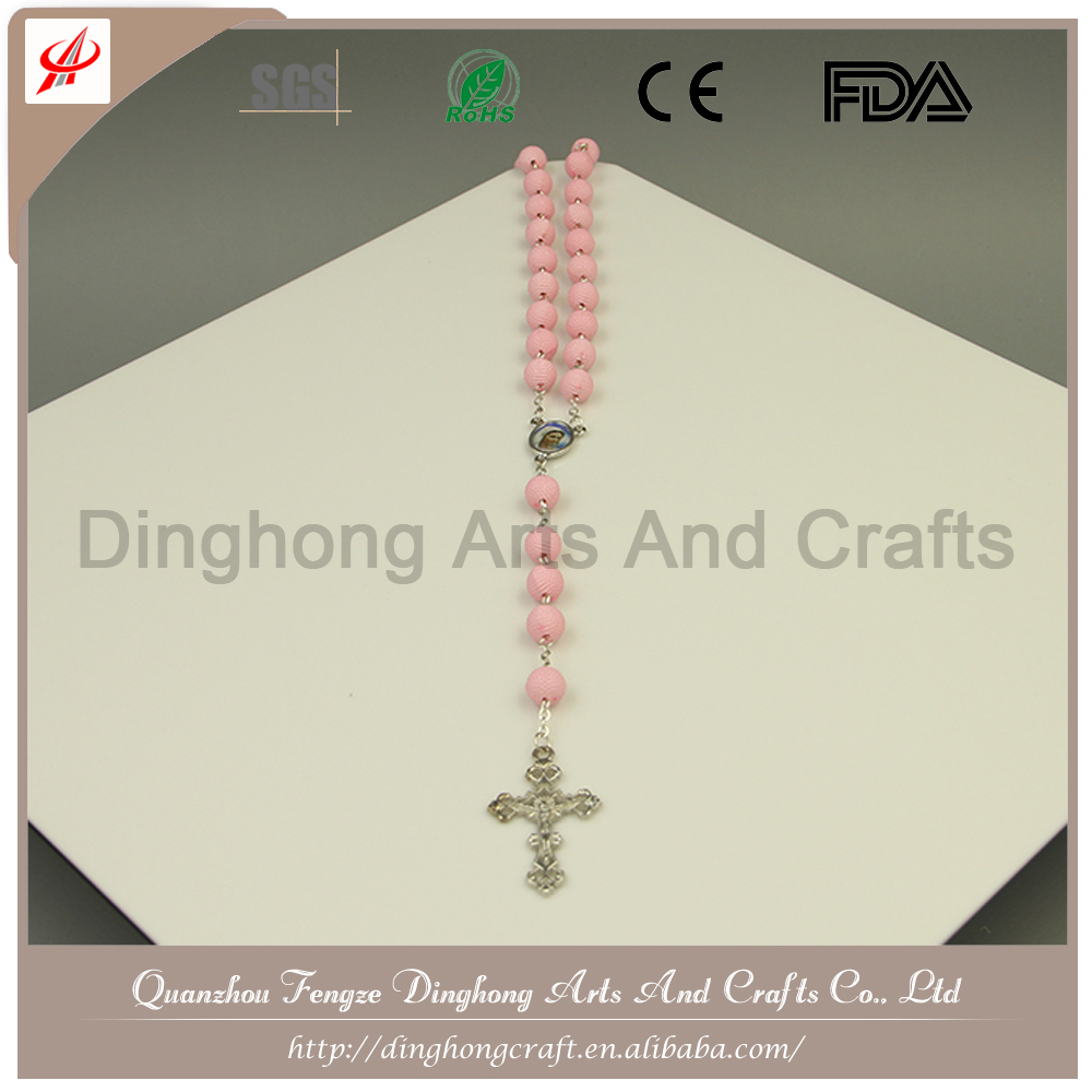 Bead Rosary, Rosary Necklace,Rose Scent Rosary Necklace Wholesale