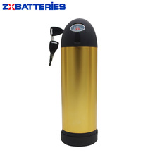Hot Selling Water Bottle Battery XH370 36V 10Ah 800W Lithium Ion Electric Bike Battery Pack