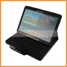PU Leather Bluetooth Keyboard Case for Samsung Tab S 10.5 inch T800 With Stand,Plastic Keyboard is Removable