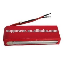 2SCell adding wire high quality rc car li-po battery 7.4v 1500mah