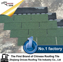 Design top sell glazed fiberglass asphalt roofing tiles