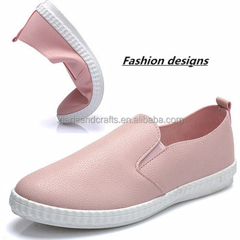 2015 manufacturer wholesale loafer design fashion shoes free sample china lady shoes