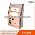 Wall Mounted Multi-touch Kiosk with fingerprint Reader / Thermal Printer Multi-touch Kiosk