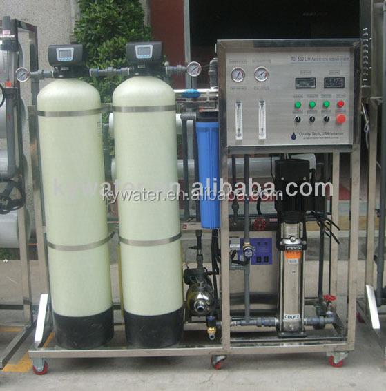 CE, ISO approved factory price 500LPH water desalination plant