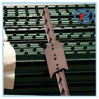 cheap price Field metal fencing studded t post