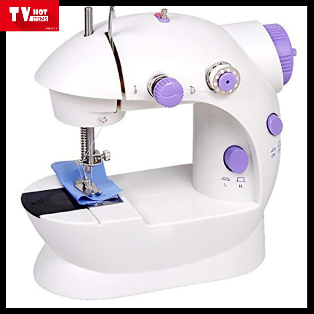 portable 4 in 1 mini electric sewing machine easy use handy stitch handheld sewing machine