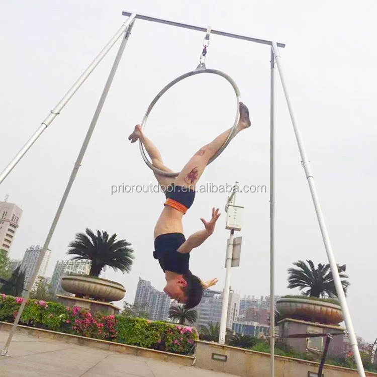 Professional 600KGS Stainless Steel Aerial Yoga hoops Aerial Dance Hoop Quality Guarantee