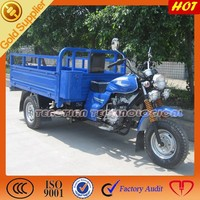 Heavy duty gas motor 3 wheel tuk motorcycle for sale