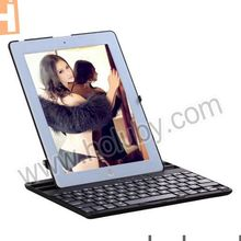 Wireless Bluetooth Keyboard For iPad 2/The New iPad/iPad 4 with New Rotating Stand