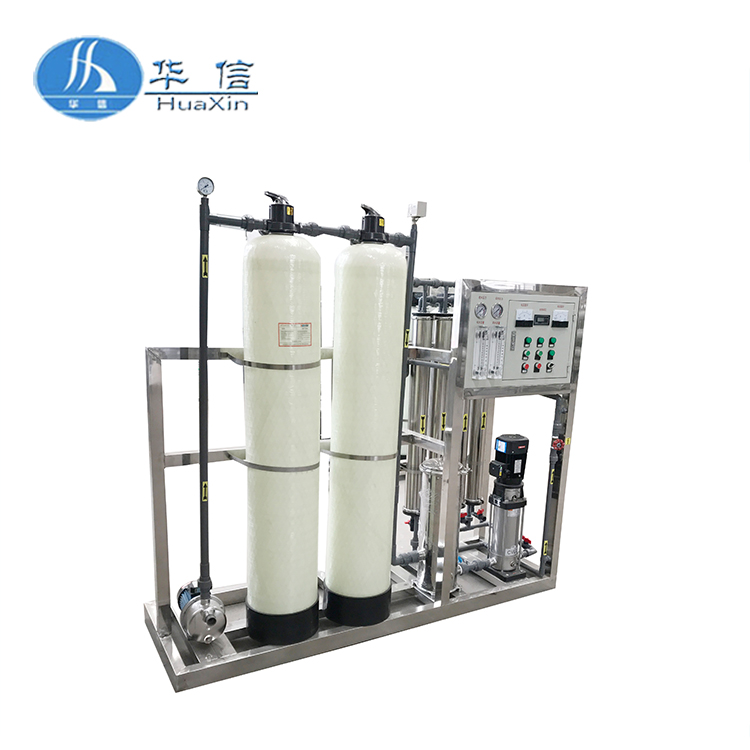 Battery water machine in water treatment system