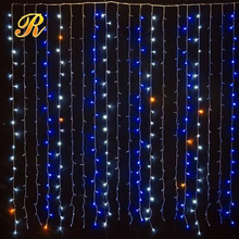 Hot selling led christmas curtain lights for outdoor wall decoration