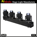 Nebula 4 x 10W white LED beam moving head light 4 head moving