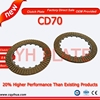 Top Brand Cheap Sell Friction Plate CD70, Good Quality Motobike DK100 Clutch Plate, YH Brand Motorcycle Parts JH70 CD70