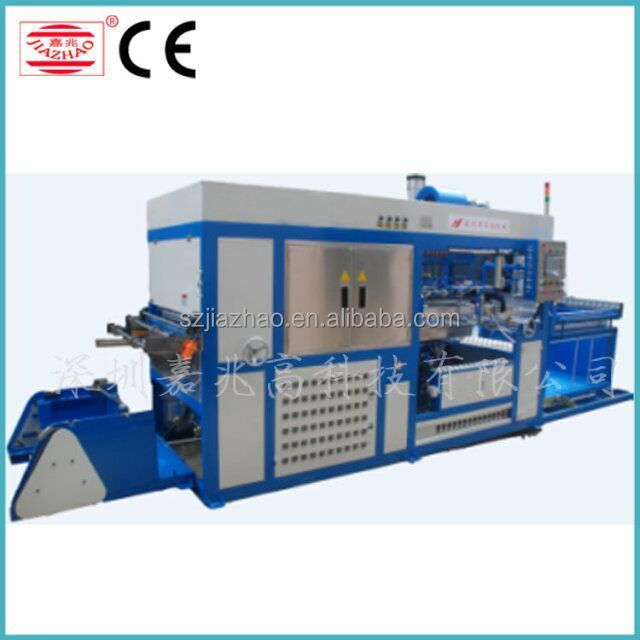 Plastic tray vaccum forming machine for JELLY CONTAINER price