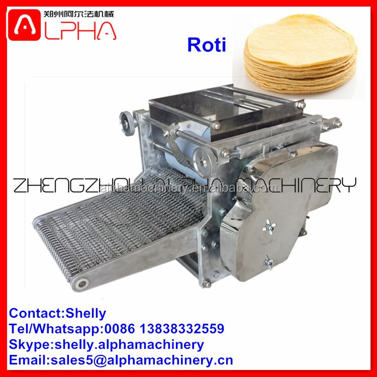 Best price roti maker fully automatic India roti making machine corn tortilla machine