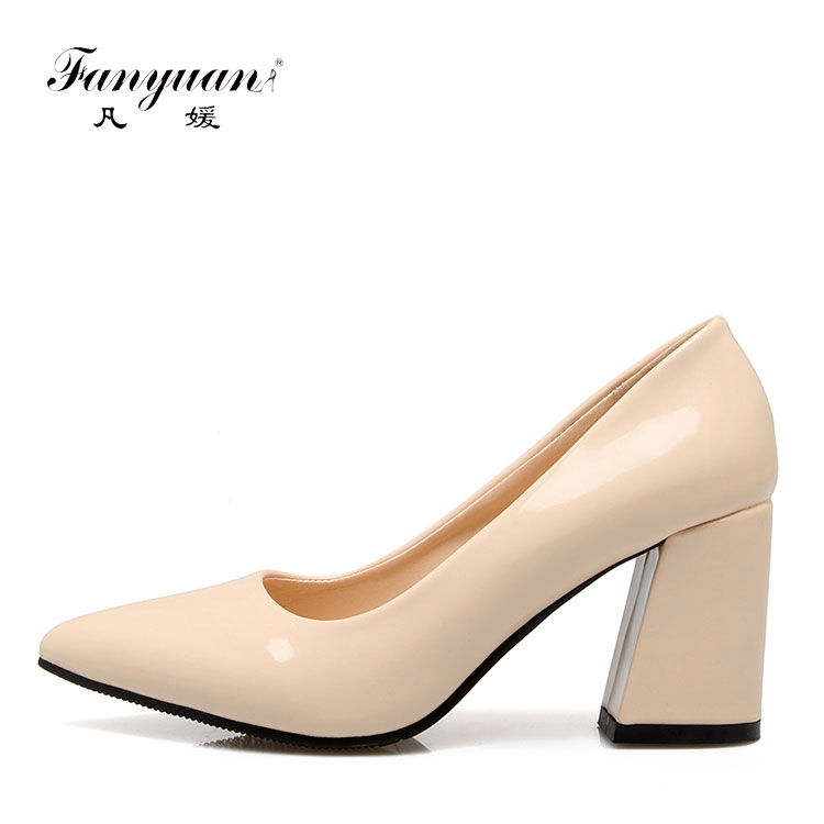 wholesale Sexy Ladies High Heel Patent Leather Pointed Toe Wedding Shoes For Women 2017