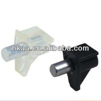 China ISO meta furniturel pins with plastic cap of shelf support manufacturer