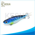 soft vibe with lead weight lure bait Kesun lure CS002-B 115mm,36g