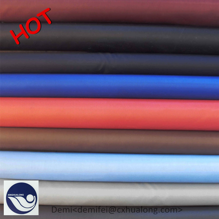 Silver coated 190t polyester plaid taffeta fabric for backpacks , tent , car cover
