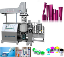 AVE hydraulic lifting body lotion, moisturizer vacuum mixer machine for small business