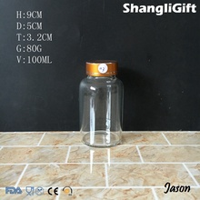 3 oz high borosilicate glass bottle with high quality