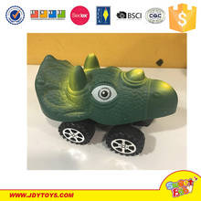 Lovely Cheap Friction Car Toys Small Plastic Moving Animal Toys