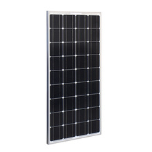 China top quality most cheap solar panel system 100 watt solar panel complete kit charge controller cost in india