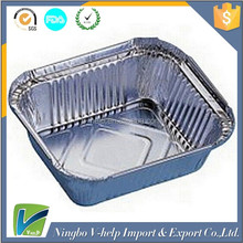 Hot selling rectangle disposable aluminum foil container