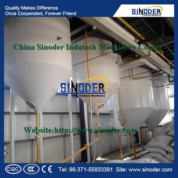 50TPD peanut/ sunflower / sesame/ palm/ soybean / coconut / edible oil refinery for cooking oil