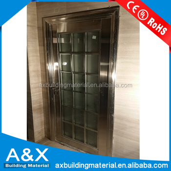 Stainless Steel Frame With New Designs Stainless Steel Door
