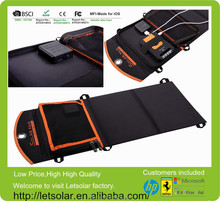 2014 new product 10.5W solar panel solar charger case for ipad mini