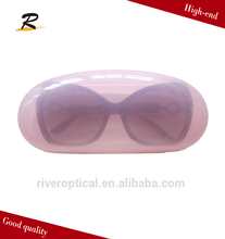 promotional clear plastic eyeglass case / plastic sunglasses case