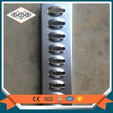 Composite galvanized mild serrated steel bar grating platform